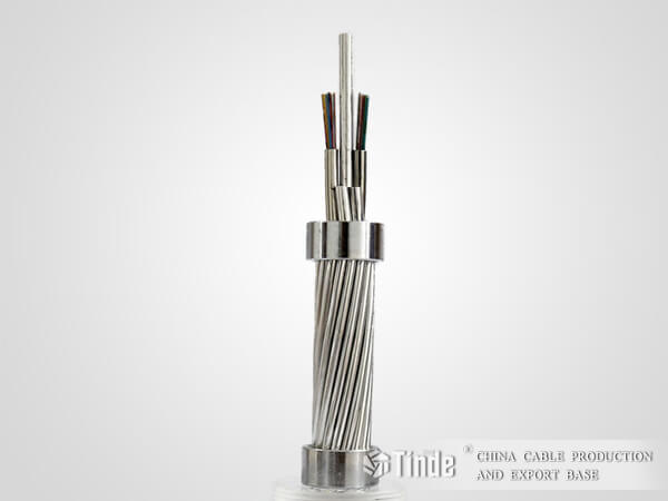 Center Stainless Steel Tube OPGW Cable